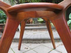Adrian Pearsall Gorgeous Adrian Pearsall Sculptural Walnut Dining Table Mid Century Modern - 1697082
