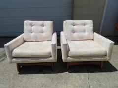Adrian Pearsall Handsome Pair of Adrian Pearsall Lounge Chairs for Craft Associates Inc  - 1296254