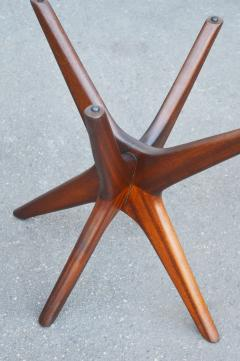 Adrian Pearsall Pair of Solid Afromosia Teak Jacks Jax Side Tables by Adrian Pearsall - 2110577