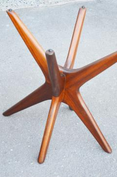 Adrian Pearsall Pair of Solid Afromosia Teak Jacks Jax Side Tables by Adrian Pearsall - 2110578