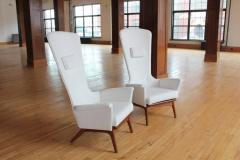 Adrian Pearsall Sculptural High Back Lounge Chair by Adrian Pearsall - 687010