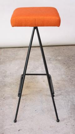 Adrian Pearsall Set of Four Adrian Pearsall 11 Iron Barstools - 470396
