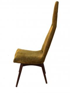 Adrian Pearsall Set of Four Adrian Pearsall High Back Dining Chairs for Craft Associates - 1794050