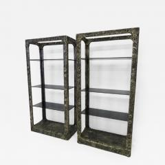 Adrian Pearsall Unusual and Rare Pair of Adrian Pearsall Brutalist Etageres - 1310354