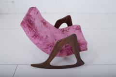 Adrian Pearsall Walnut Rocking Chair - 2032379