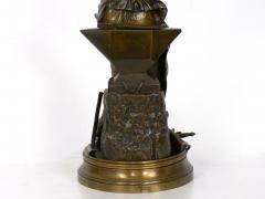 Adrienz tienne Gaudez A Young Bladesmith French Antique Bronze Sculpture by Adrien Etienne Gaudez - 1094306