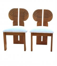 Afra Tobia Scarpa 6 Africa Studio Dining Chairs In The Manner of Afra Tobia Scarpa - 1878312