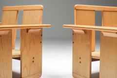 Afra Tobia Scarpa Afra Tobia Scarpa crate chairs Maxalto 1970s - 1450424