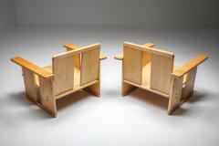Afra Tobia Scarpa Afra Tobia Scarpa crate chairs Maxalto 1970s - 1450427