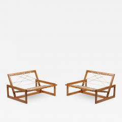 Afra Tobia Scarpa Cassina Carlotta Lounge Chairs by Afra and Tobia Scarpa 1960s - 1338652