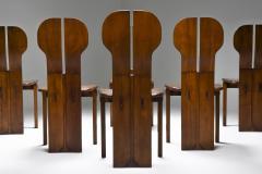 Afra Tobia Scarpa Italian Afra Tobia Scarpa Africa Dining Chairs for Maxalto 1975 - 1982530
