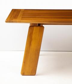 Afra Tobia Scarpa Italian Walnut Floating Dining Table by Afra and Tobia Scarpa for Mobil Girgi - 2093372