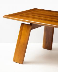 Afra Tobia Scarpa Italian Walnut Floating Dining Table by Afra and Tobia Scarpa for Mobil Girgi - 2093375