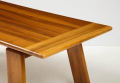 Afra Tobia Scarpa Italian Walnut Floating Dining Table by Afra and Tobia Scarpa for Mobil Girgi - 2093376