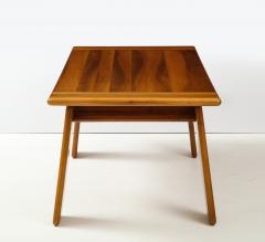 Afra Tobia Scarpa Italian Walnut Floating Dining Table by Afra and Tobia Scarpa for Mobil Girgi - 2093377