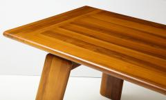 Afra Tobia Scarpa Italian Walnut Floating Dining Table by Afra and Tobia Scarpa for Mobil Girgi - 2093378