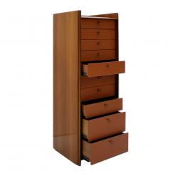 Afra Tobia Scarpa Midcentury Afra and Tobia Scarpa for Maxalto Africa Italian Chest of Drawers - 966391