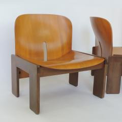 Afra Tobia Scarpa Pair of Afra Tobia Scarpa 925 Easy Chairs for Cassina Italy 1966 - 1494528