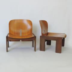 Afra Tobia Scarpa Pair of Afra Tobia Scarpa 925 Easy Chairs for Cassina Italy 1966 - 1494529