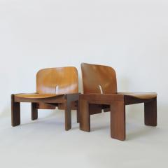 Afra Tobia Scarpa Pair of Afra Tobia Scarpa 925 Easy Chairs for Cassina Italy 1966 - 1494530