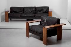 Afra Tobia Scarpa Set of Sofa and Lounge Chair by Afra Tobia Scarpa for Maxalto - 1366962