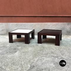 Afra Tobia Scarpa Set of two coffee table by Afra and Tobia Scarpa for Cassina 1970s - 1936101