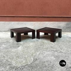 Afra Tobia Scarpa Set of two coffee table by Afra and Tobia Scarpa for Cassina 1970s - 1936103