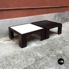 Afra Tobia Scarpa Set of two coffee table by Afra and Tobia Scarpa for Cassina 1970s - 1936105