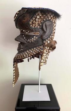 African Kuba Helmet Mask - 1070215