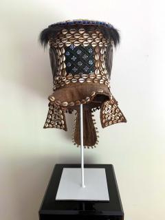 African Kuba Helmet Mask - 1070218