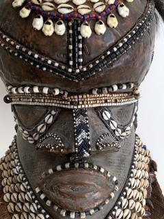 African Kuba Helmet Mask - 1070222