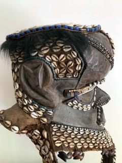 African Kuba Helmet Mask - 1070224