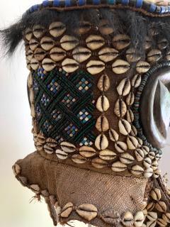 African Kuba Helmet Mask - 1070226