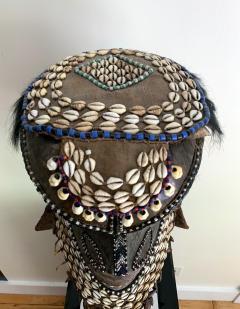 African Kuba Helmet Mask - 1070229