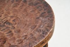 African Solid Wood Stool Africa ca 1950s - 2096459