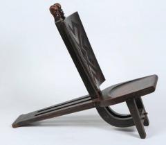 African Tribal Baluba Chiefs Chair From Katanga   338204