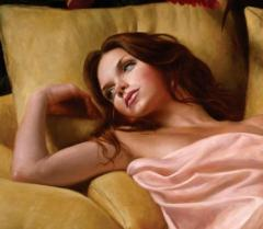 After Glow Contemporary Figurative Giclee Print by Dario Campanile - 2012334