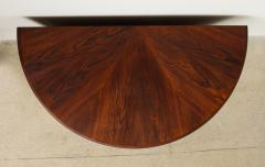 Agner Christoffersen Rosewood Demi Lune Cabinet by Agner Christoffersen for N C Christoffersen - 1095513