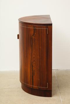 Agner Christoffersen Rosewood Demi Lune Cabinet by Agner Christoffersen for N C Christoffersen - 1095514