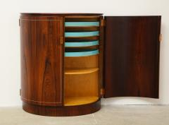 Agner Christoffersen Rosewood Demi Lune Cabinet by Agner Christoffersen for N C Christoffersen - 1095515