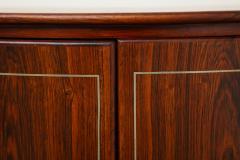 Agner Christoffersen Rosewood Demi Lune Cabinet by Agner Christoffersen for N C Christoffersen - 1095520