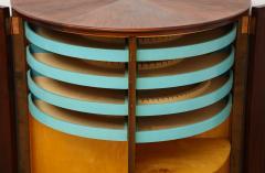 Agner Christoffersen Rosewood Demi Lune Cabinet by Agner Christoffersen for N C Christoffersen - 1095522