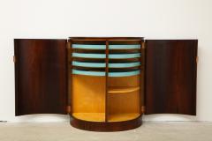 Agner Christoffersen Rosewood Demi Lune Cabinet by Agner Christoffersen for N C Christoffersen - 1095524