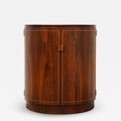 Agner Christoffersen Rosewood Demi Lune Cabinet by Agner Christoffersen for N C Christoffersen - 1096703