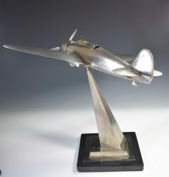 Airplane Breda 65 Italy World War Two Museum Model - 1168634