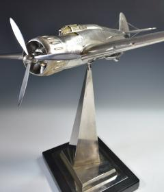 Airplane Breda 65 Italy World War Two Museum Model - 1168635