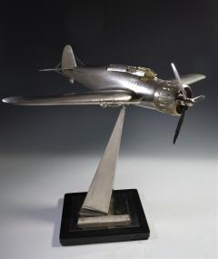 Airplane Breda 65 Italy World War Two Museum Model - 1168636