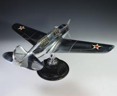Airplane Helldiver Factory Model Curtiss Wright Desk Display 1940 - 1168741