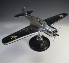 Airplane Helldiver Factory Model Curtiss Wright Desk Display 1940 - 1168742