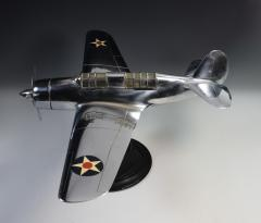 Airplane Helldiver Factory Model Curtiss Wright Desk Display 1940 - 1168743